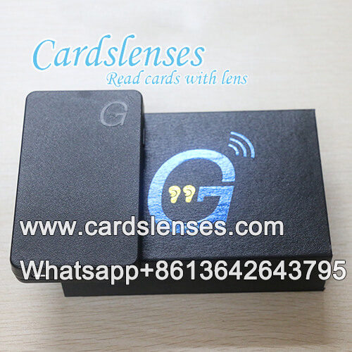 marked cards earpiece 007