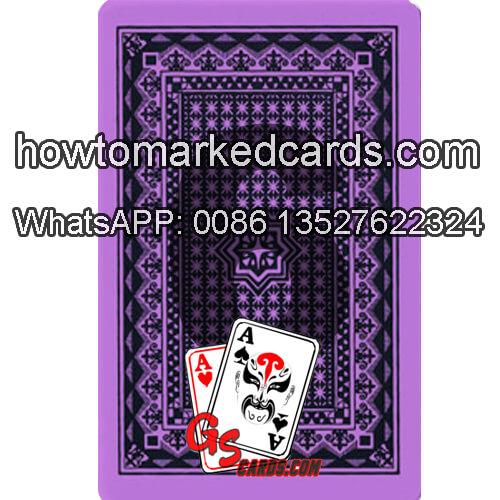 Royal jumbo index marking playing cards
