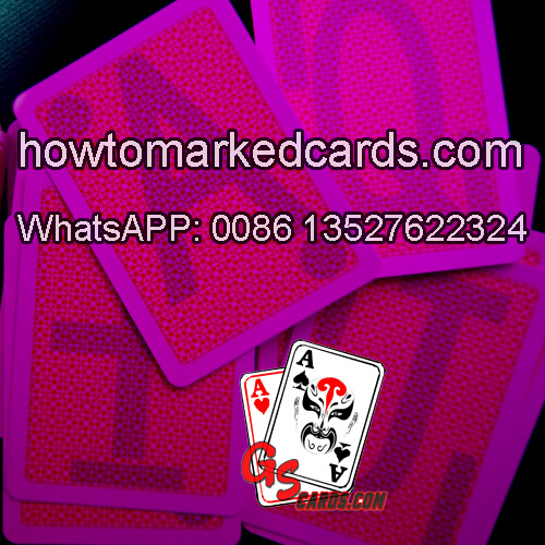 Copag 4 Pip Infrarot Tinte Saft Spielkarten