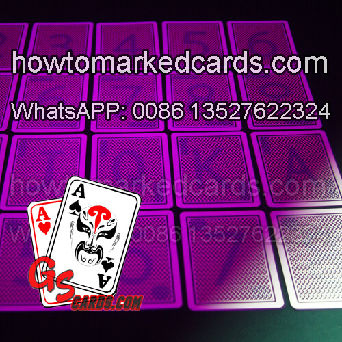 Copag Texas Holdem Jumbo Index luminous marked cards