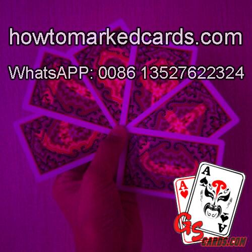 KEM Paisley cheat poker with luminous markings
