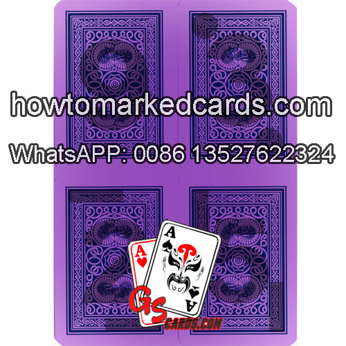 Modiano Old Trophy Entertainment Gamble Cheating Playing Cards