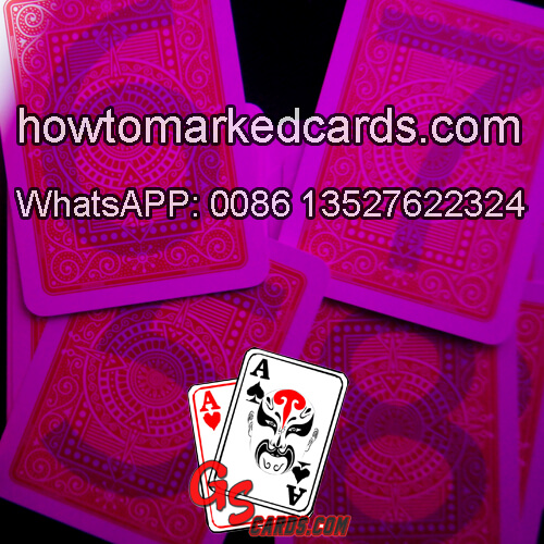 Modiano Black Jack UV cheating playing cards for poker games