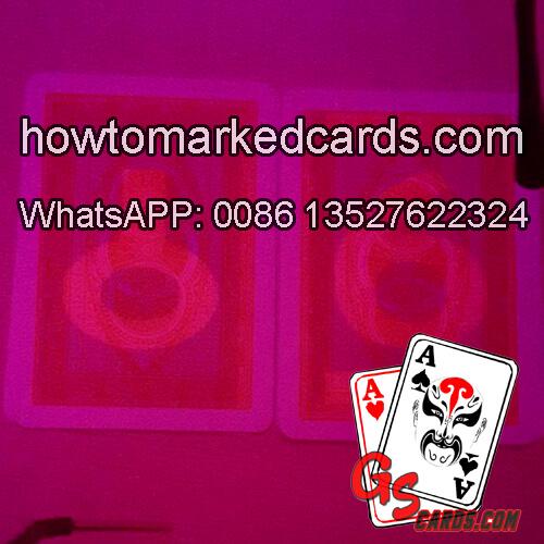 Modiano Jumbo Bike cheating playing cards apply to gambling