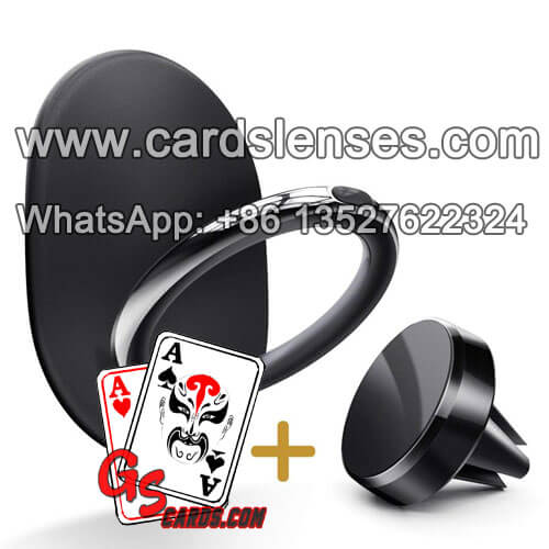 Phone Case Hard Ring Poker Hole Cards Camera