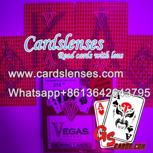 Lentes de contacto infrarrojas Vegas baraja marcada luminosas