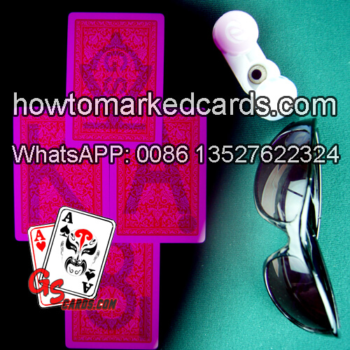 Fournier 2818 carte da gioco segnate luminose