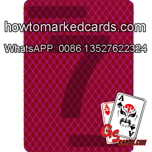 Modiano Poker Index invisible juice cards