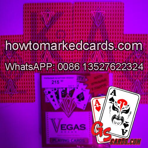 Cheating Vegas luminous juice playing cards