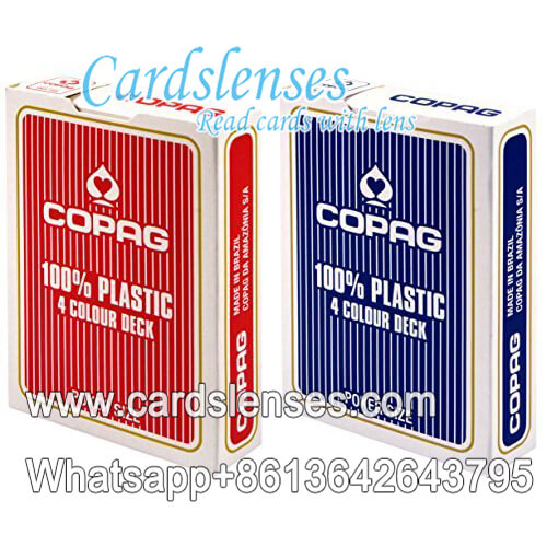Copag 4 Colour Deck Poker Cards