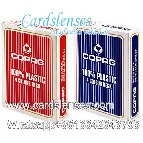 Copag 4 cores Baralho Poker Cartões