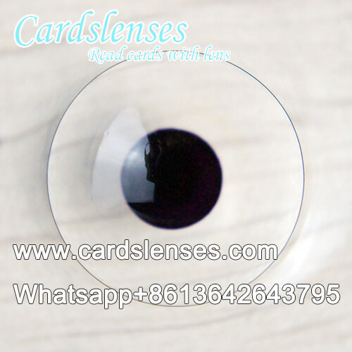 4mm marked cards contact lens