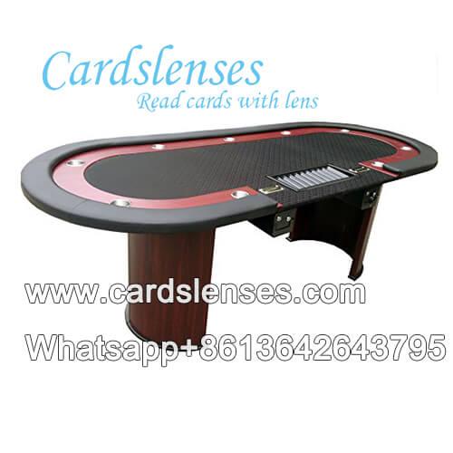 Bandeja de fichas de póker ovalada mesa de póquer
