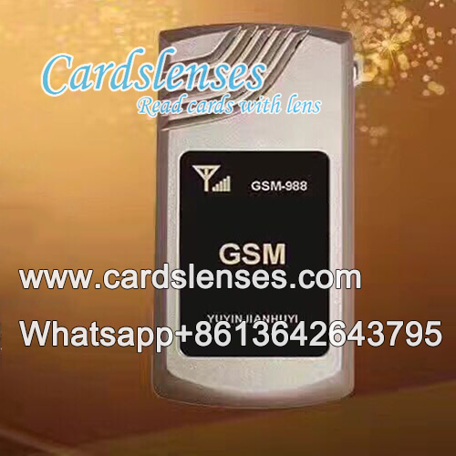 Vibratore remoto carte di poker segnate walkie-talkie