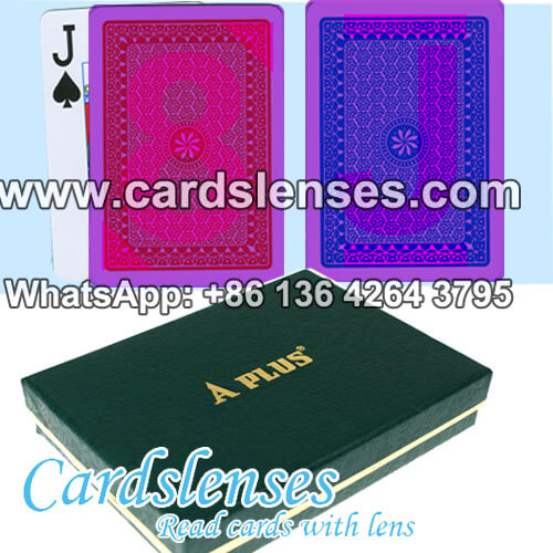 high quality A plus invisible ink marked poker cards for games