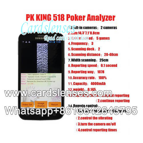 pk-king 518 Scanning Analyzer