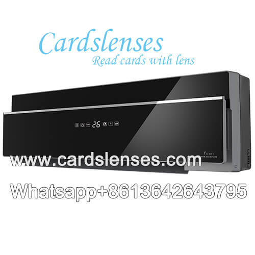 infrared camera for marked playing cards