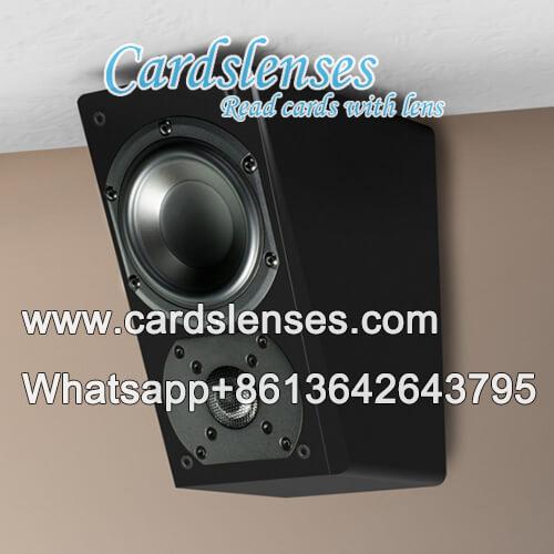 IR3 póquer infrarrojo cámara de altavoces de pared
