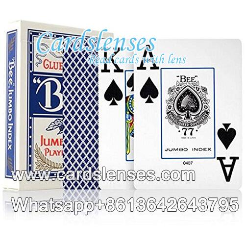 No.77 bee tarjetas para el club de póquer