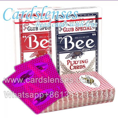 Bee Magie markiert Spielkarten