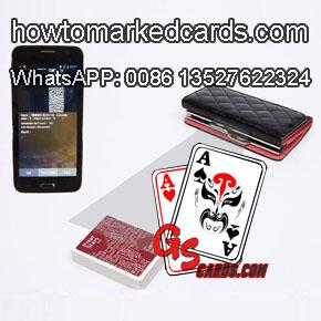barcode marked deck cards poker card reader