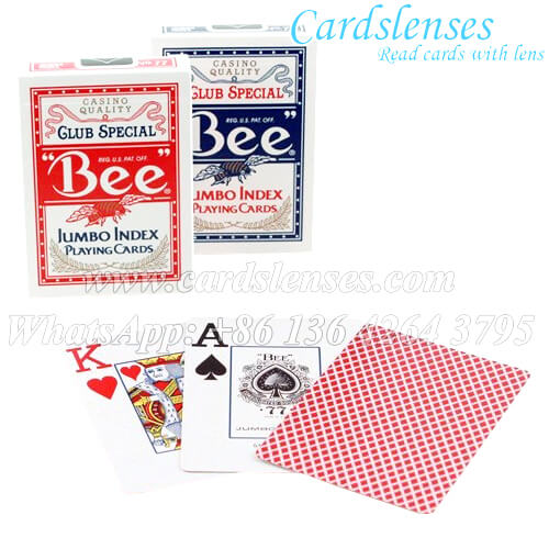 bee jumbo index marked playing cards for sale