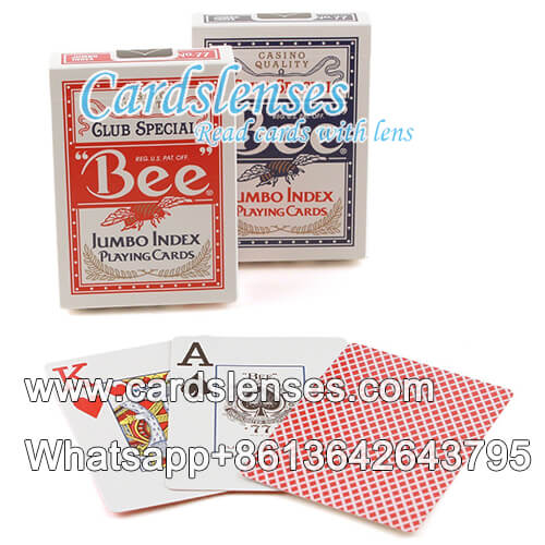 bee no77 jumbo index playing cards