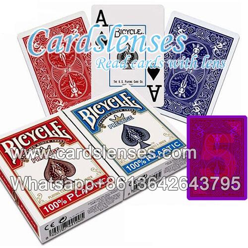 bicycle tarjetas de juego de póquer de plástico