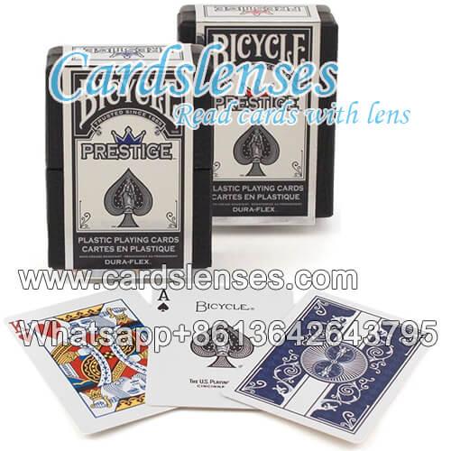 Prestigio de la bicycle baraja de póquer