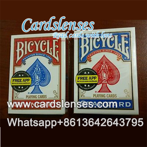 bicycle standard face single blue deck