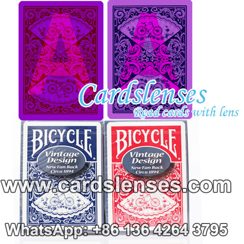 Invisible ink marking Bicycle 808 marked decks