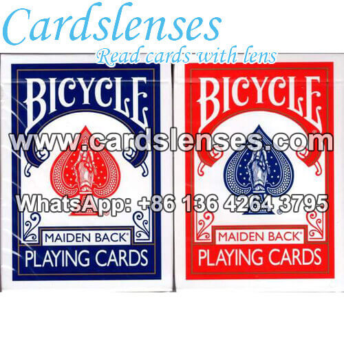 bicycle maiden marked poker