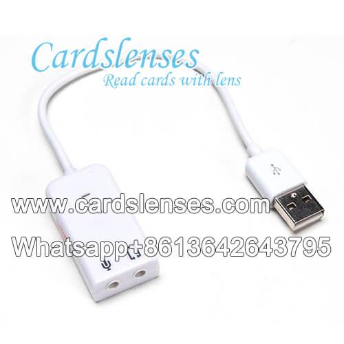 Cámara del póker del cable del USB
