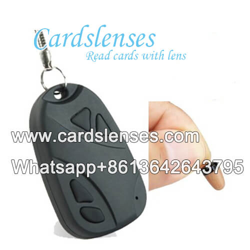 car key poker scanning lens for barcode cards