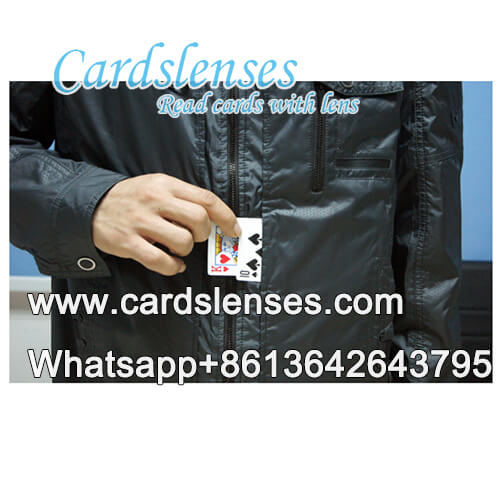 Coat playing cards switcher