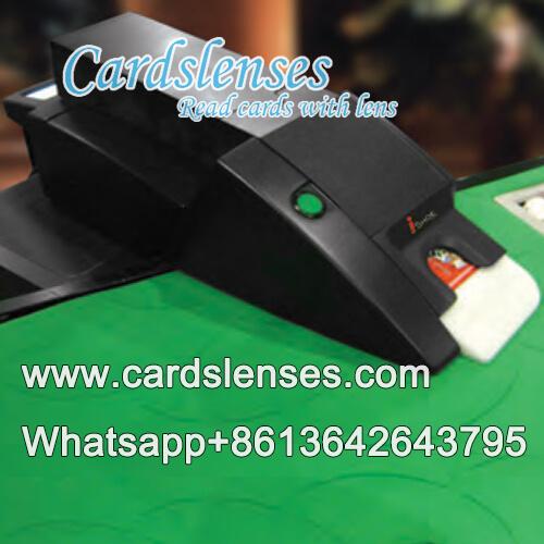 translucent blackjack shoe with remote control