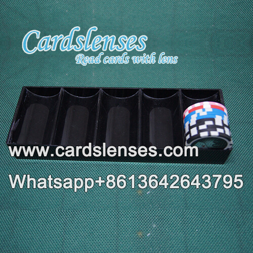 chip tray professional barcode poker viewer