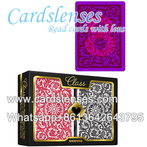 Marked plastic cards Copag Class 1546