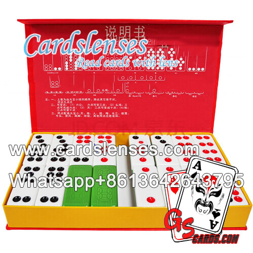 contact lenses marked pai gow tiles