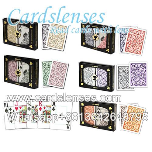 lenti a contatto segnate carte