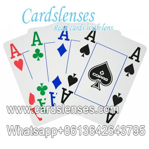 Copag 4 colori mazzo carte da poker