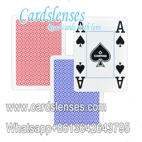 copag 4 corner index plastic playing cards