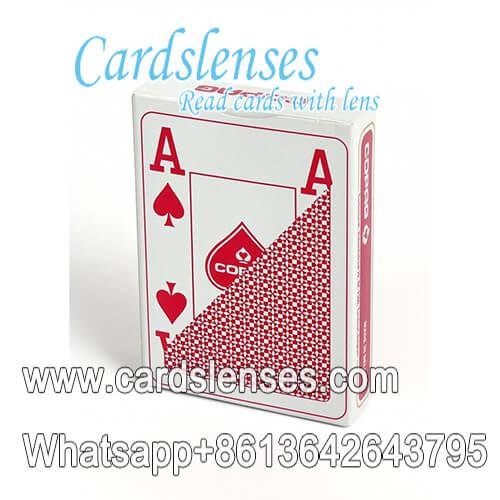 Copag el plastico 4 índice de la esquina tarjetas