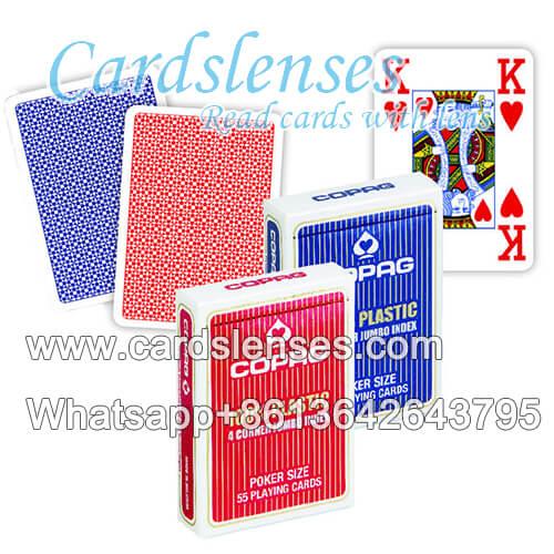inchiostro invisibile carte segnate di Copag 4PIP