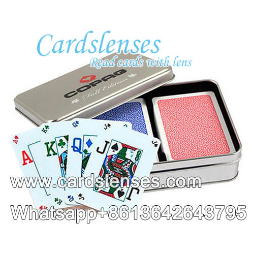 copag fall edition plastic playing cards