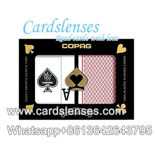 Copag Índice de peek cartas de póquer