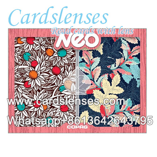 baraja marcada Copag Neo Nature tarjetas