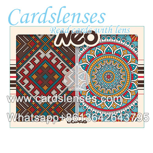 Copag Neo Culture baraja de cartas marcadas luminosas