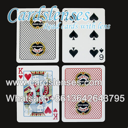copag poker club perspective invisible ink marked cards