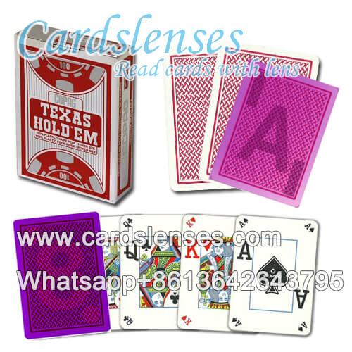 Copag Texas Holdem Dual Peek gezinkte kartendeck